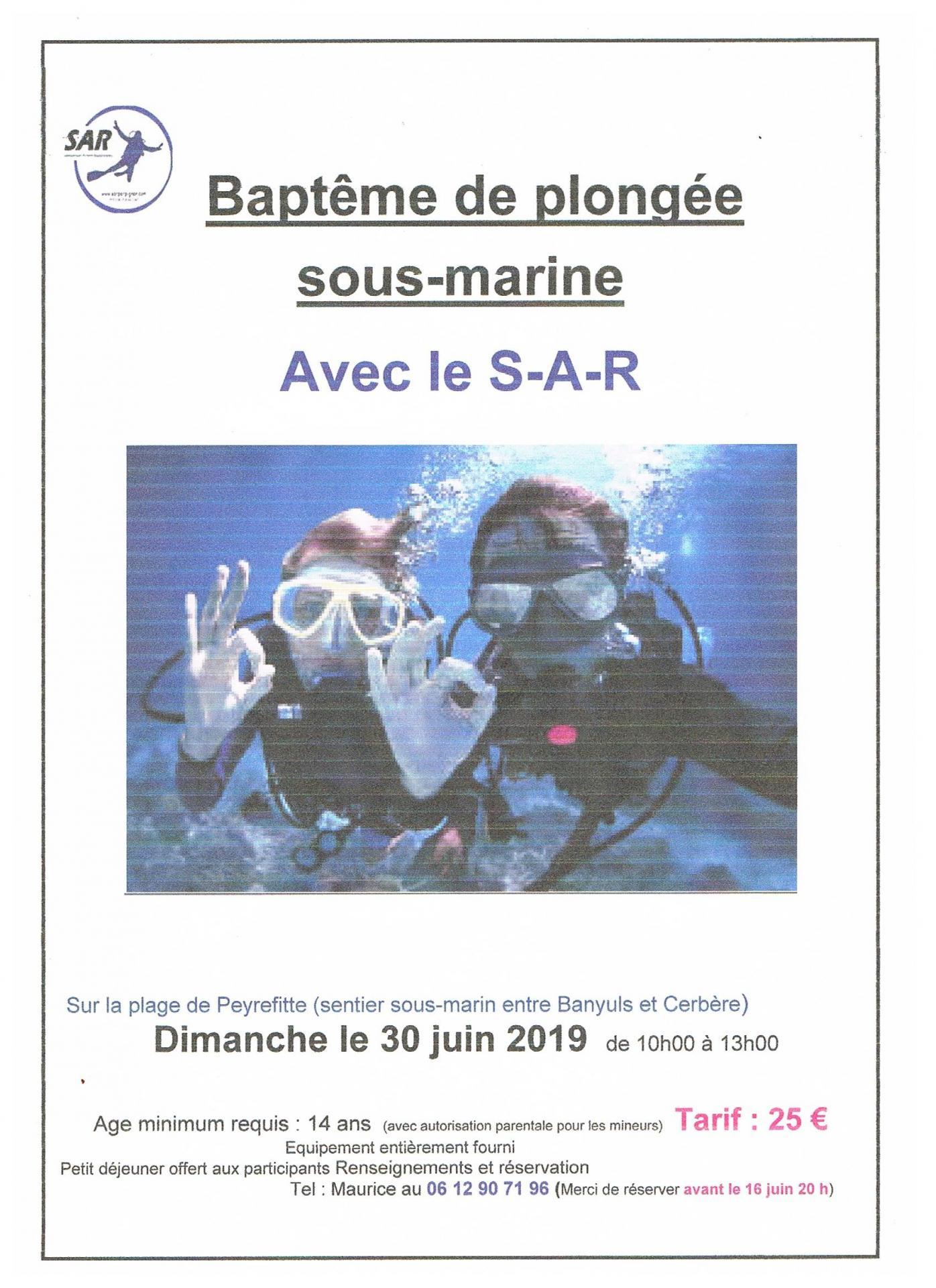 Affiche baptême