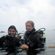 Baptême de plongée avec Antoine