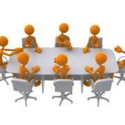 Clipart people desk meeting 1280x960