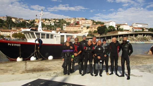 groupe plongeurs