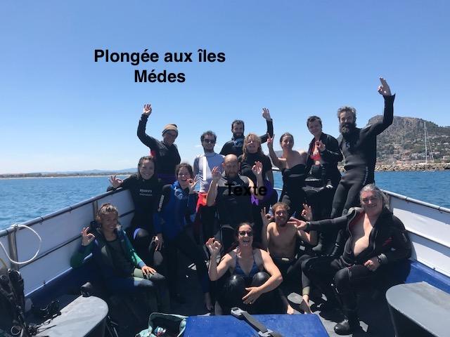 Plongee aux iles medes